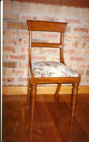 traditional handmade chair