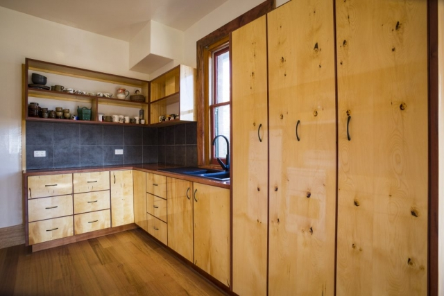 handmade tasmanian timber kitchen