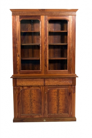 Victorian Blackwood bookcase