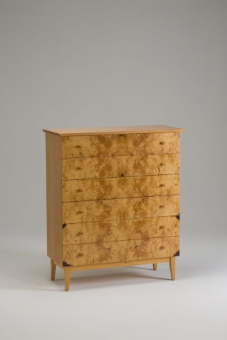 huonpine chest of drawers